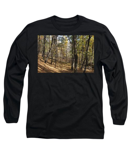 Long Sleeve T-Shirt featuring the photograph The Woods by William Norton
