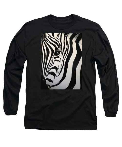 The Zebra With One Eye Long Sleeve T-Shirt