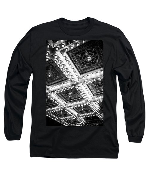 Theater Lights Long Sleeve T-Shirt by Melinda Ledsome