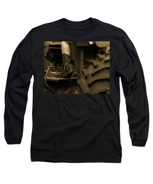 These Boots 1 Sepia Long Sleeve T-Shirt