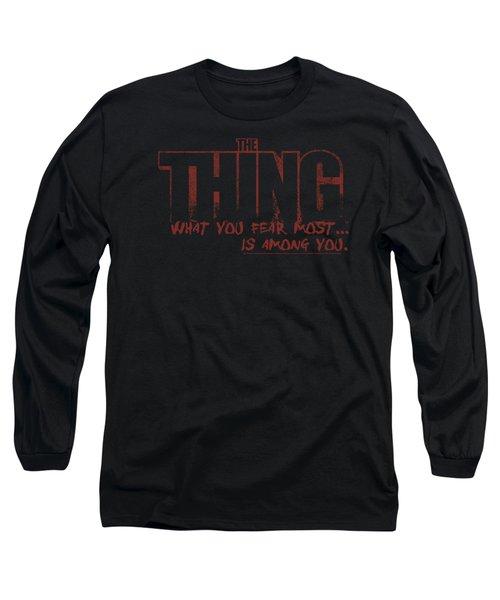 Thing - Fear Long Sleeve T-Shirt