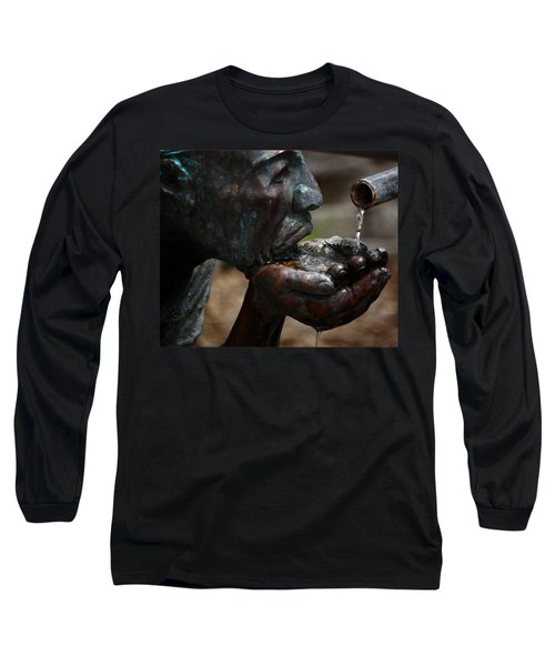 Long Sleeve T-Shirt featuring the photograph Thirst Quencher by Leticia Latocki
