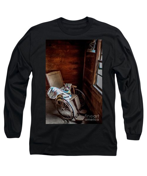 Wheelchair With A View Long Sleeve T-Shirt