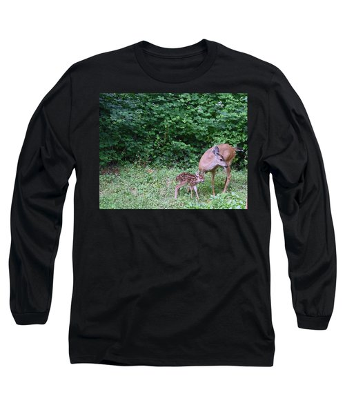 This Standing Up Is Hard Mom Long Sleeve T-Shirt