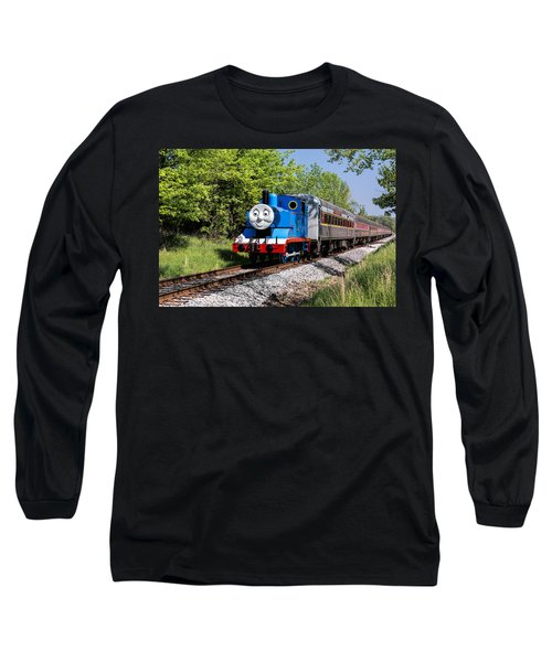 Thomas Visits The Cvnp Long Sleeve T-Shirt