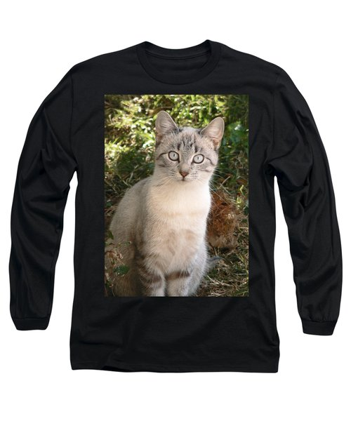 Those Eyes Long Sleeve T-Shirt by Laurel Powell