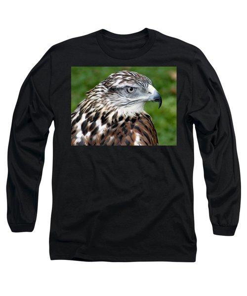 The Threat Of A Predator Hawk Long Sleeve T-Shirt
