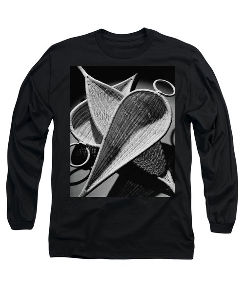 Three Reed Baskets Long Sleeve T-Shirt