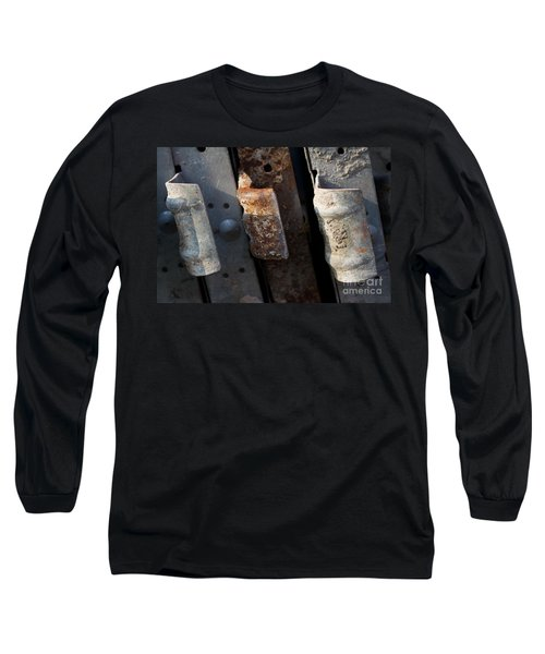 Three Shades Of Rust Long Sleeve T-Shirt