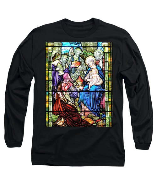 Three Wise Men - Visitation Of The Magi Long Sleeve T-Shirt