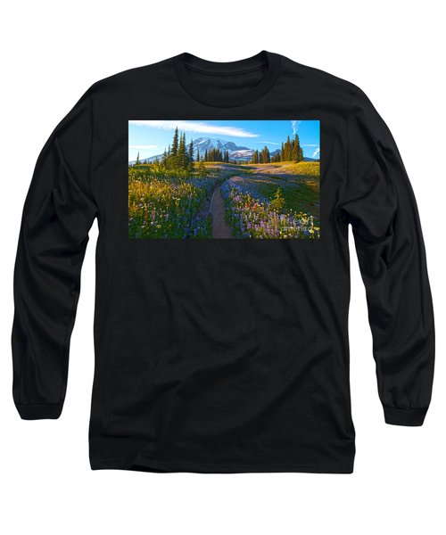 Through The Golden Meadows Long Sleeve T-Shirt