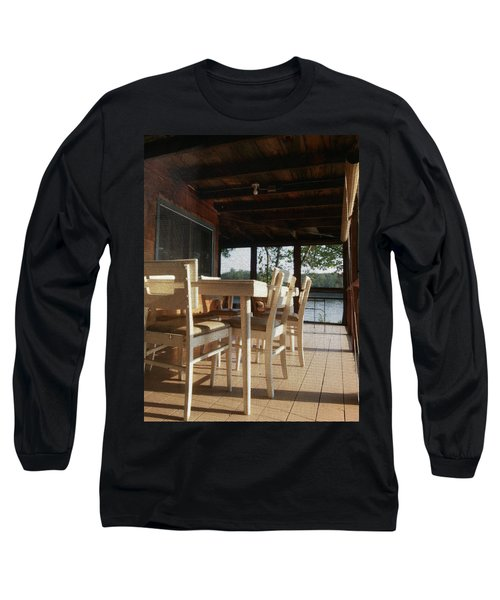 Through The Screen No 1 Long Sleeve T-Shirt