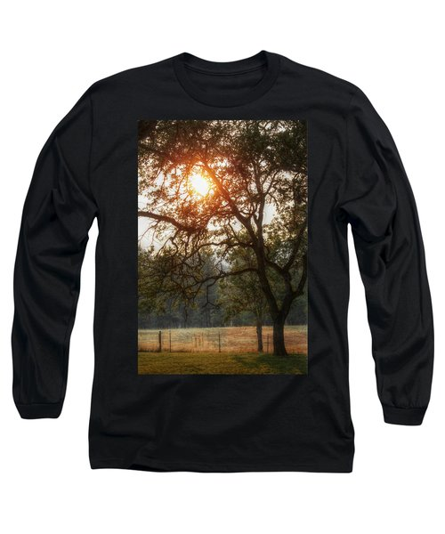 Through The Trees Long Sleeve T-Shirt by Melanie Lankford Photography