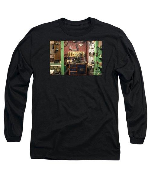 Garage Of Yesteryear Long Sleeve T-Shirt
