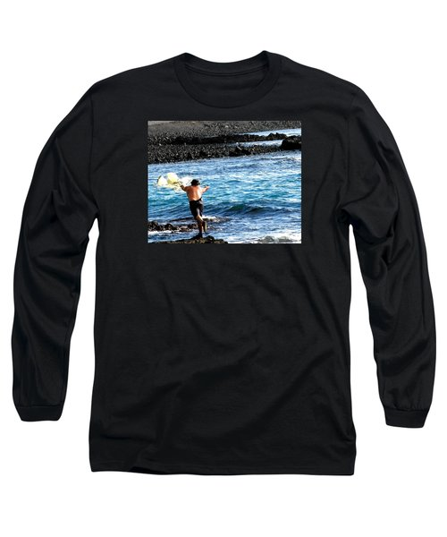 Throw.... Long Sleeve T-Shirt