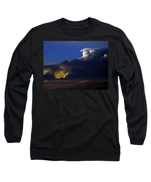 Long Sleeve T-Shirt featuring the photograph Thunderstorm II by Greg Reed