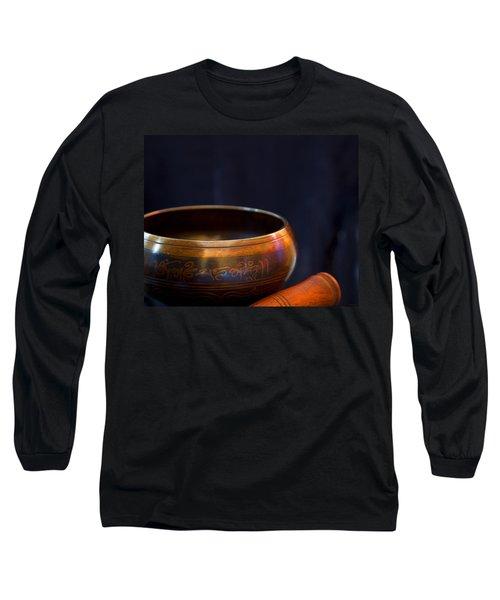 Tibetan Singing Bowl Long Sleeve T-Shirt