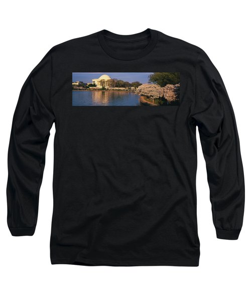 Tidal Basin Washington Dc Long Sleeve T-Shirt by Panoramic Images