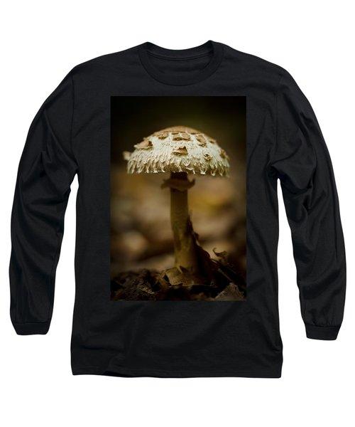 Tiffany Shroom Long Sleeve T-Shirt by Shane Holsclaw