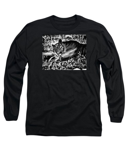 Tiger Long Sleeve T-Shirt by Hayato Matsumoto