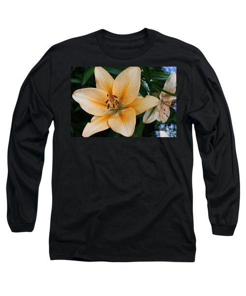 Long Sleeve T-Shirt featuring the photograph Tiger Lily by Dora Sofia Caputo Photographic Art and Design