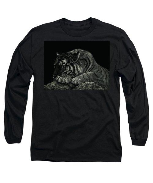 Tiger Power At Peace Long Sleeve T-Shirt