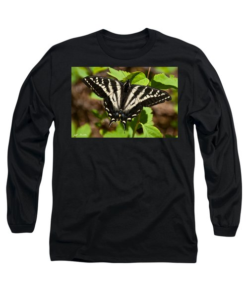 Tiger Swallowtail Butterfly Long Sleeve T-Shirt by Jeff Goulden