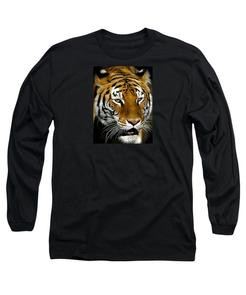Tiger Tiger Burning Bright Long Sleeve T-Shirt by Venetia Featherstone-Witty
