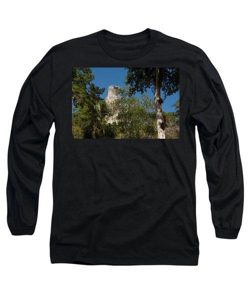 Tikal Pyramid 4a Long Sleeve T-Shirt
