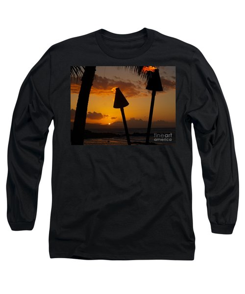 Tiki Time In Maui Long Sleeve T-Shirt