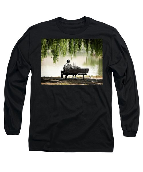 Time Flies By Long Sleeve T-Shirt by Ellen Cotton