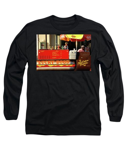 Time For A Lucky Dog Long Sleeve T-Shirt