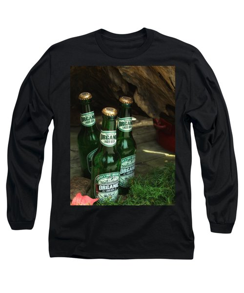 Time In Bottles Long Sleeve T-Shirt by Rachel Mirror