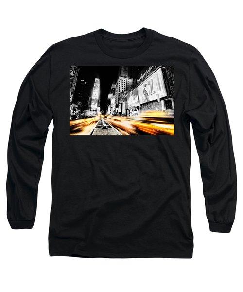 Time Lapse Square Long Sleeve T-Shirt