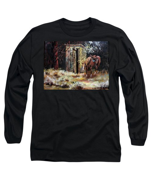 Time Out Long Sleeve T-Shirt by Lee Piper