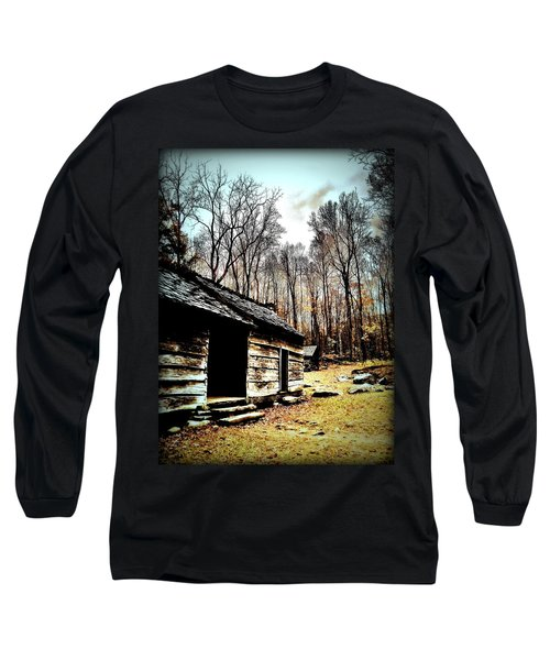 Long Sleeve T-Shirt featuring the photograph Time Standing Still by Faith Williams