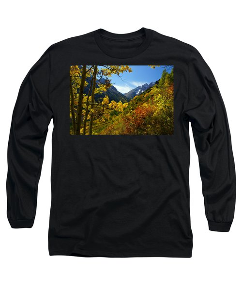 Time Stops Long Sleeve T-Shirt by Jeremy Rhoades