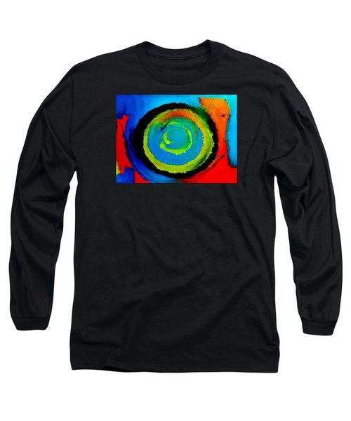 Long Sleeve T-Shirt featuring the painting Time Traveler  by Lisa Kaiser