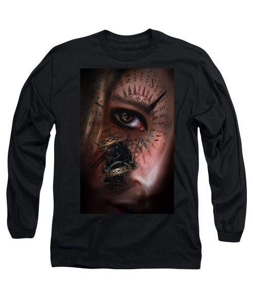 Time Travler  Long Sleeve T-Shirt by Nathan Wright