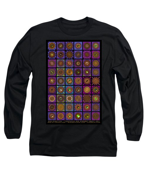 Timepieces One Dingbat Quilt Long Sleeve T-Shirt