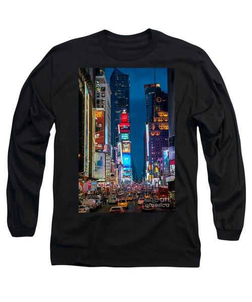 Times Square I Long Sleeve T-Shirt