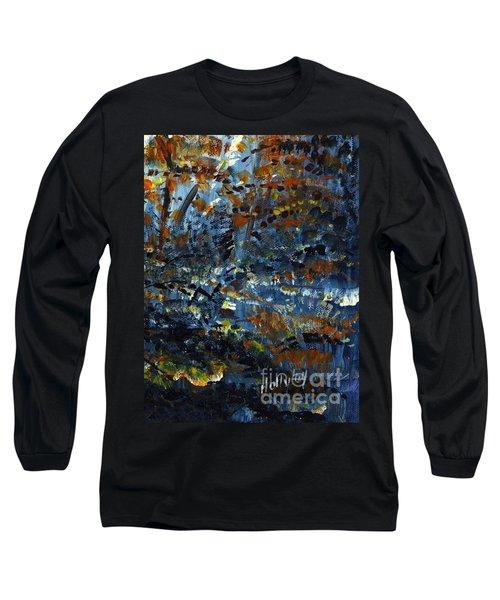 Tim's Autumn Trees Long Sleeve T-Shirt