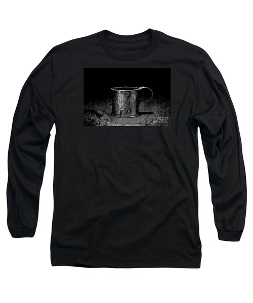 Tin Cup Chalice Long Sleeve T-Shirt by John Stephens