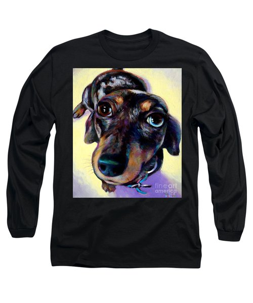 Long Sleeve T-Shirt featuring the painting Tink  by Robert Phelps