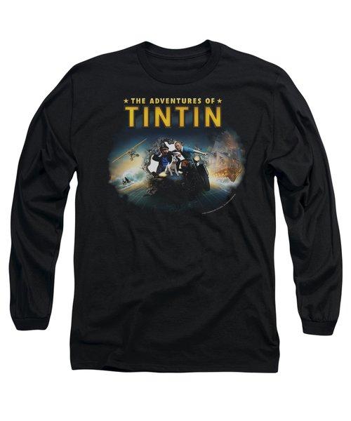 Tintin - Journey Long Sleeve T-Shirt