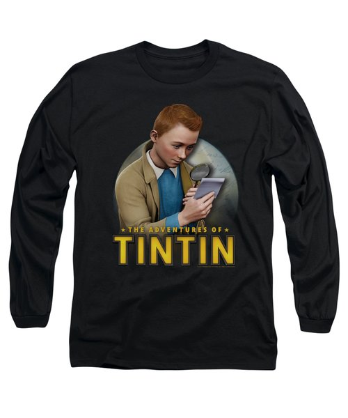 Tintin - Looking For Answers Long Sleeve T-Shirt
