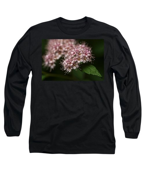 Tiny Flowers Long Sleeve T-Shirt by Michael McGowan