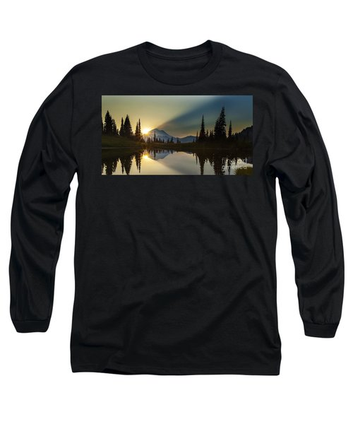Tipsoo Rainier Sunstar Long Sleeve T-Shirt