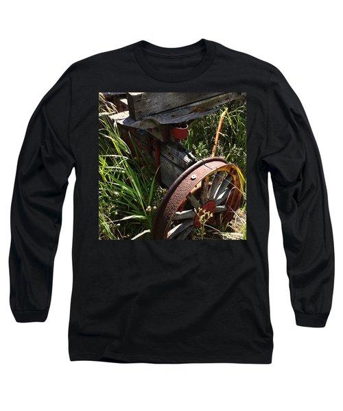 Long Sleeve T-Shirt featuring the photograph Tireless by Meghan at FireBonnet Art
