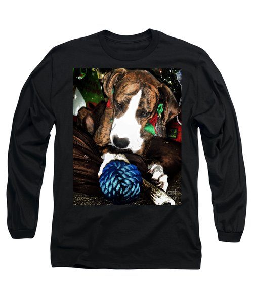 Long Sleeve T-Shirt featuring the photograph 'tis Better To Receive by Robert McCubbin